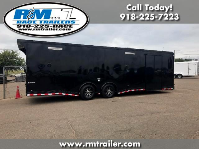 2018 Cargo Mate Eliminator ENCLOSED 28FT RACE TRAILER