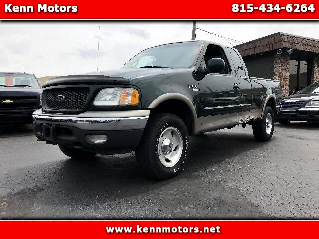 "2001 Ford F-150 4WD SuperCab 133"" XLT"