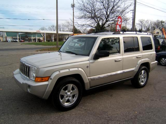 2006 Jeep Commander a 57 hemi engine 4x4 third seat leather limited edition very sharp inside and o