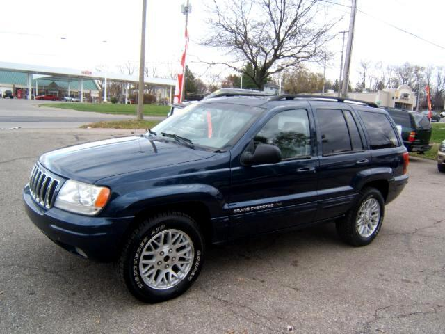 2002 Jeep Grand Cherokee only117k 4x4 limited moon roof new tires all around a very sharp jeep load