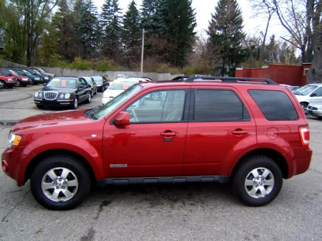 2008 Ford Escape limited loaded moon roof leather cd player spotless inside and out runs and drive