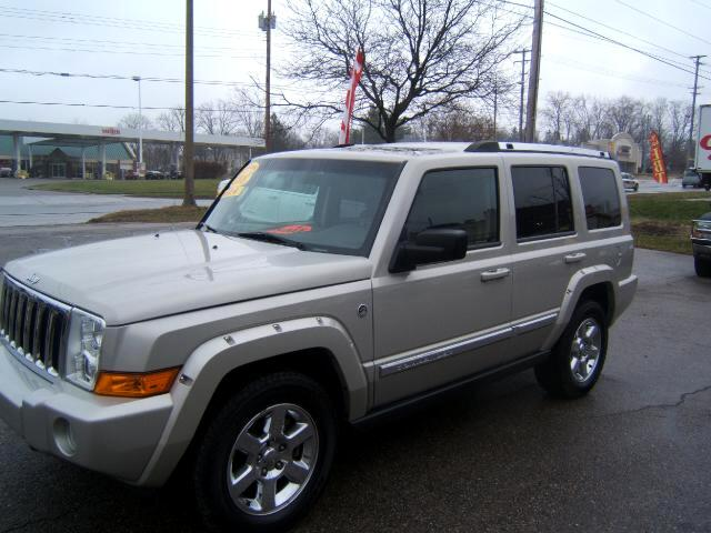 2008 Jeep Commander has a hemi 57 engine 4x4 navigation tv rear entertainment center leather moon r