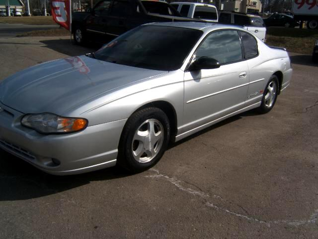 2001 Chevrolet Monte Carlo has a 3800 engineSS package very sharp inside and out loaded power w