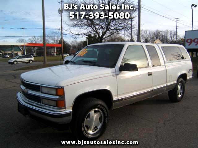 1998 Chevrolet CK 1500 Series extended cab 4x4 350 engine power windows locks