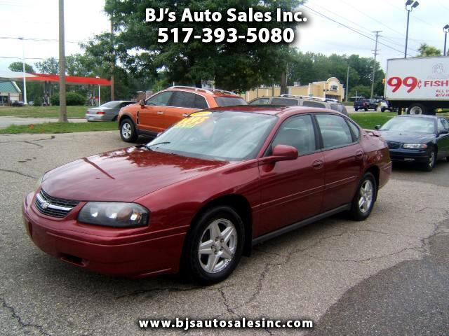 2005 Chevrolet Impala very sharp is a one owner car has a moon roof new brakes front and rear power