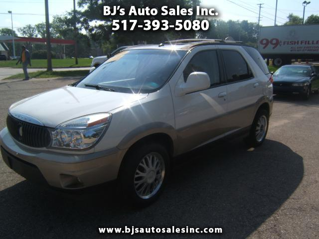 2005 Buick Rendezvous low miles 4x4 has a third seat spotless inside and out has a moon roof leathe