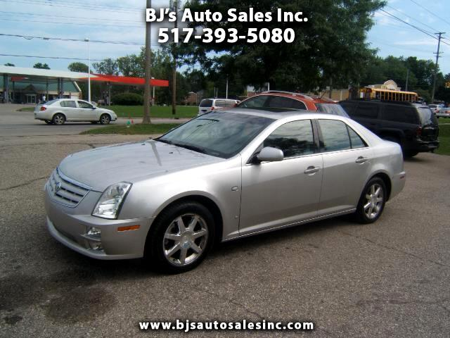 2006 Cadillac STS only 64000 miles all wheel drive moon roof leather interior p
