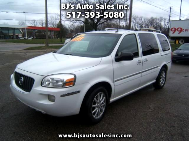 2005 Buick Terraza has third- row seating very good car fax heated seats leather interior Entertai