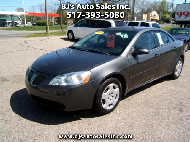 2007 Pontiac G6 very sharp inside and out power windows locks cruise cd player very clean good gas