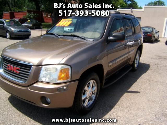 2003 GMC Envoy 4x4 very sharp inside and out runs and drives very well loaded two tone -leather p