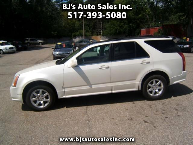 2008 Cadillac SRX 4x4 leather panoramic moon roof- third row seating power windows locks tilt crui