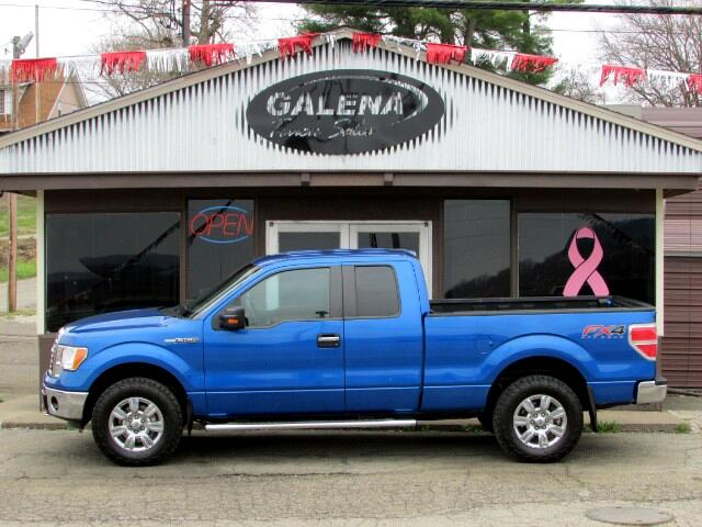 2012 Ford F-150 SuperCab Short Bed 4WD