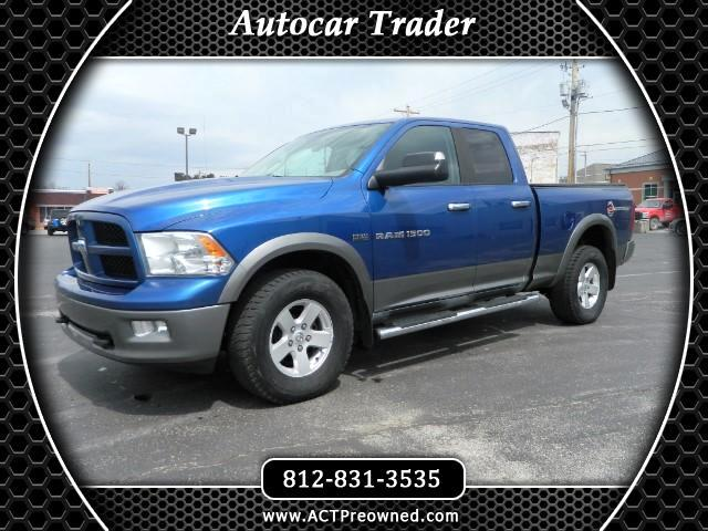 2011 Dodge Ram Pickup 1500 SLT Quad Cab 4WD