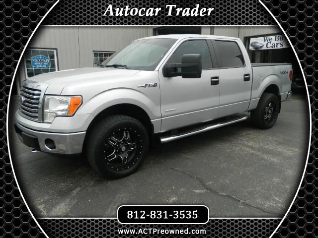 2012 Ford F-150 XLT 4WD SuperCrew 5.5' Box