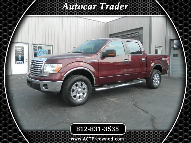 2010 Ford F-150 XLT 4WD SuperCrew 5.5' Box
