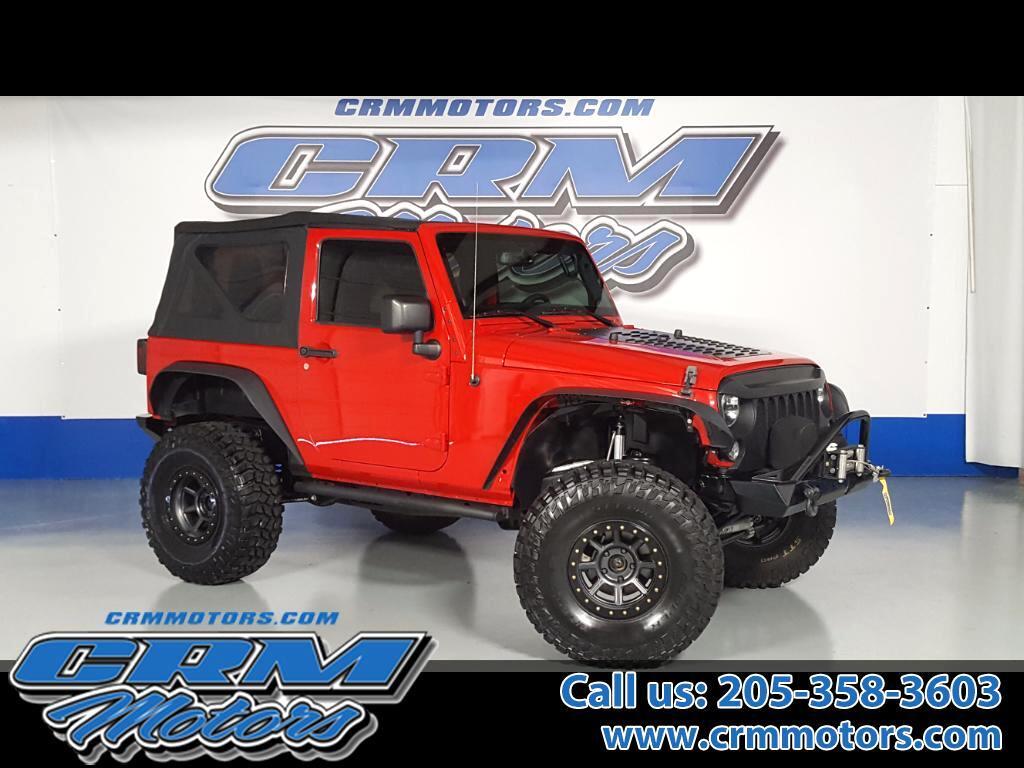 2014 Jeep Wrangler Sport 4WD 3.5 Rock Krawler X Factor Lift w/ Rock K