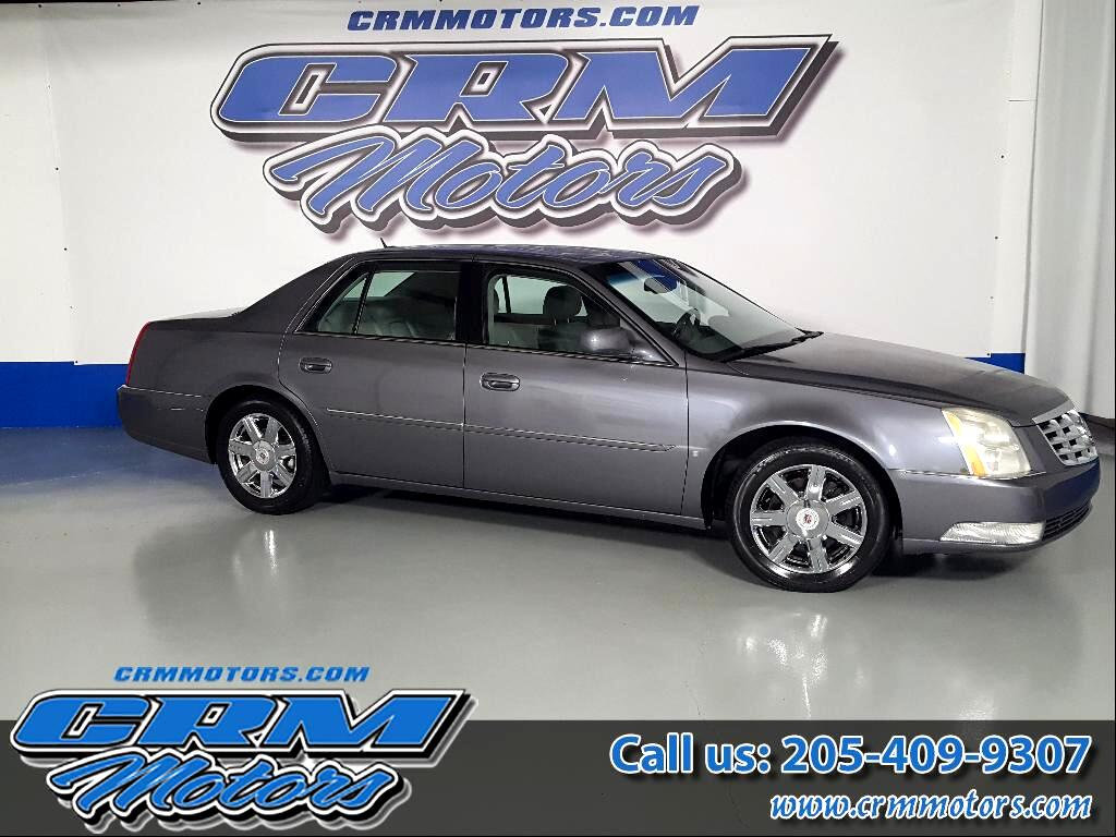 2007 Cadillac DTS 4DR SEDAN LUXURY LOW MILES!