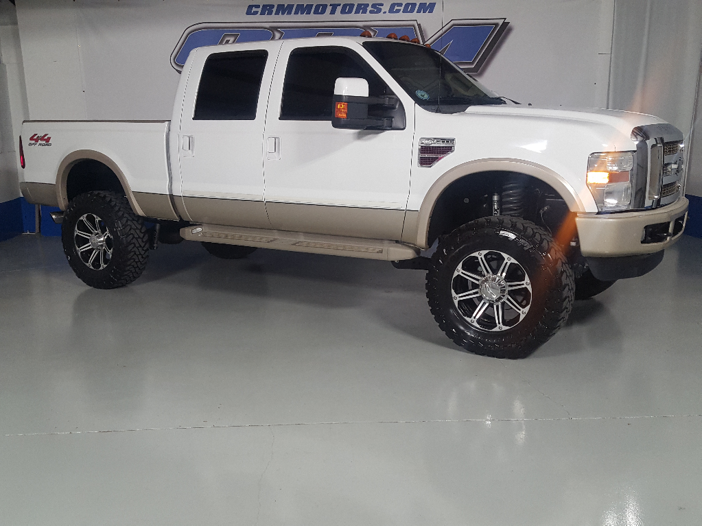 2009 Ford F-250 SD King Ranch Crew Cab Long Bed 4WD