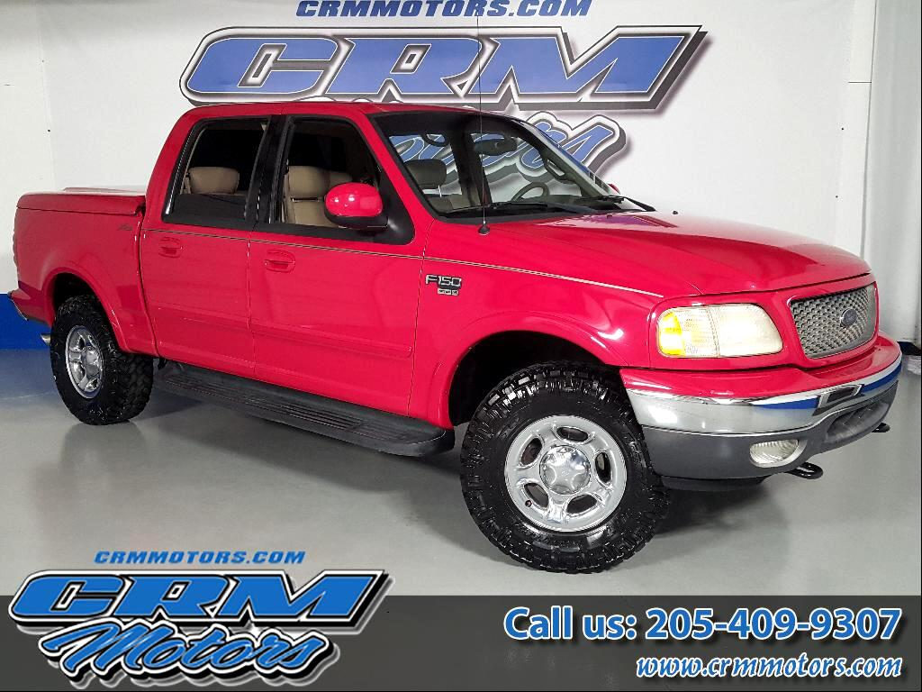 2001 Ford F-150 4WD SuperCab 133