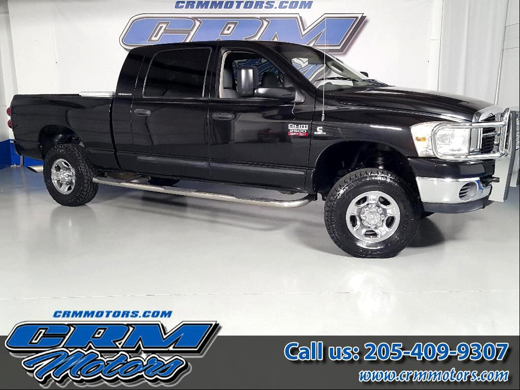 2007 Dodge Ram 2500 SLT MEGA CAB 4WD 5.9L HIGH OUTPUT!