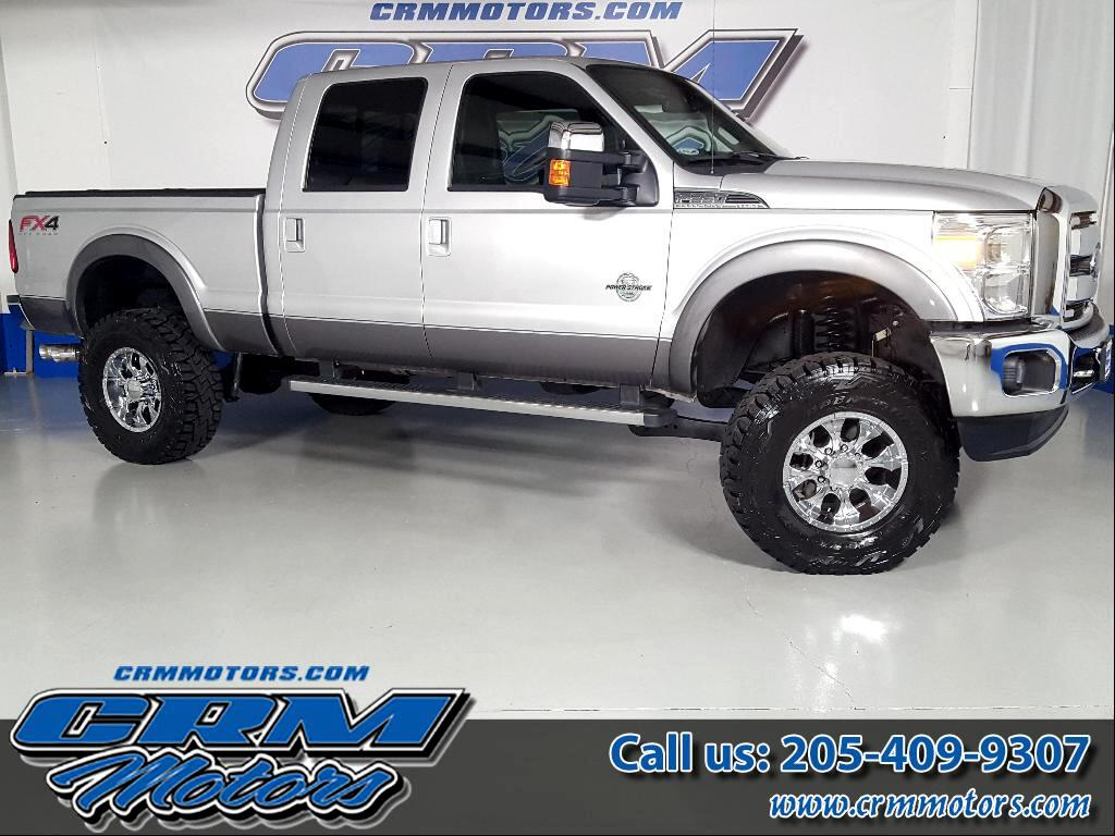 2014 Ford F-250 SD LARIAT CREW CAB 4X4 FX4 LIFTED!