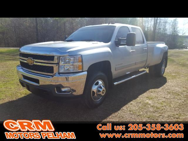 2013 Chevrolet Silverado 3500HD LTZ Crew Cab 4WD Turbo Diesel Leather Heated Seats