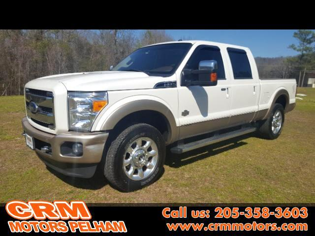 2011 Ford F-250 SD Lariat King Ranch 4WD with Back Up Camera
