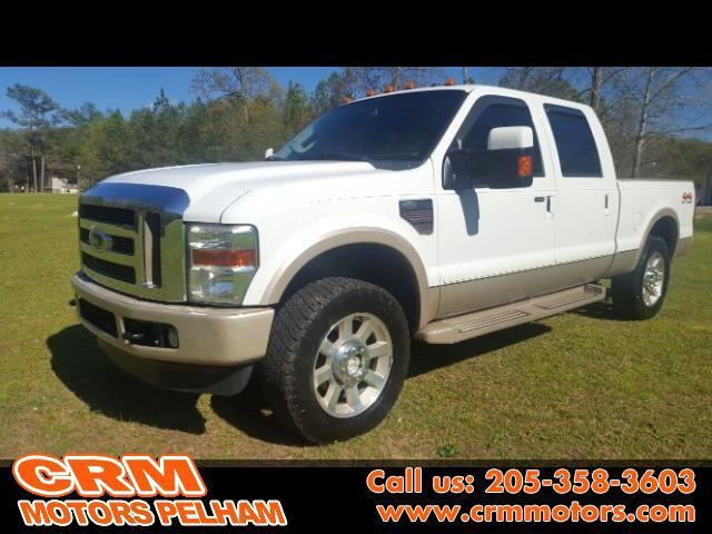 2009 Ford F-250 SD King Ranch Lariat Super Duty 4WD