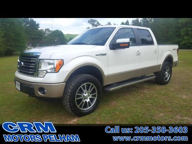 2013 Ford F-150 Lariat 4WD BACK UP CAMERA HEATED AND AC SEATS