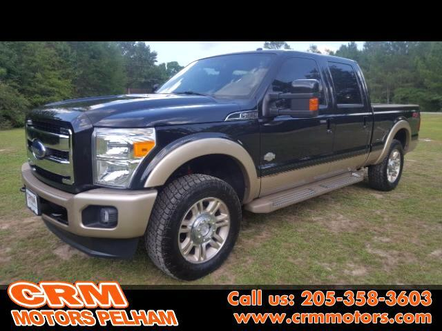 2012 Ford F-250 SD King Ranch Lariat 4WD