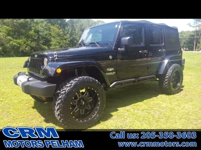 2015 Jeep Wrangler SAHARA 4WD ONE OWNER, NO ACCIDENT!