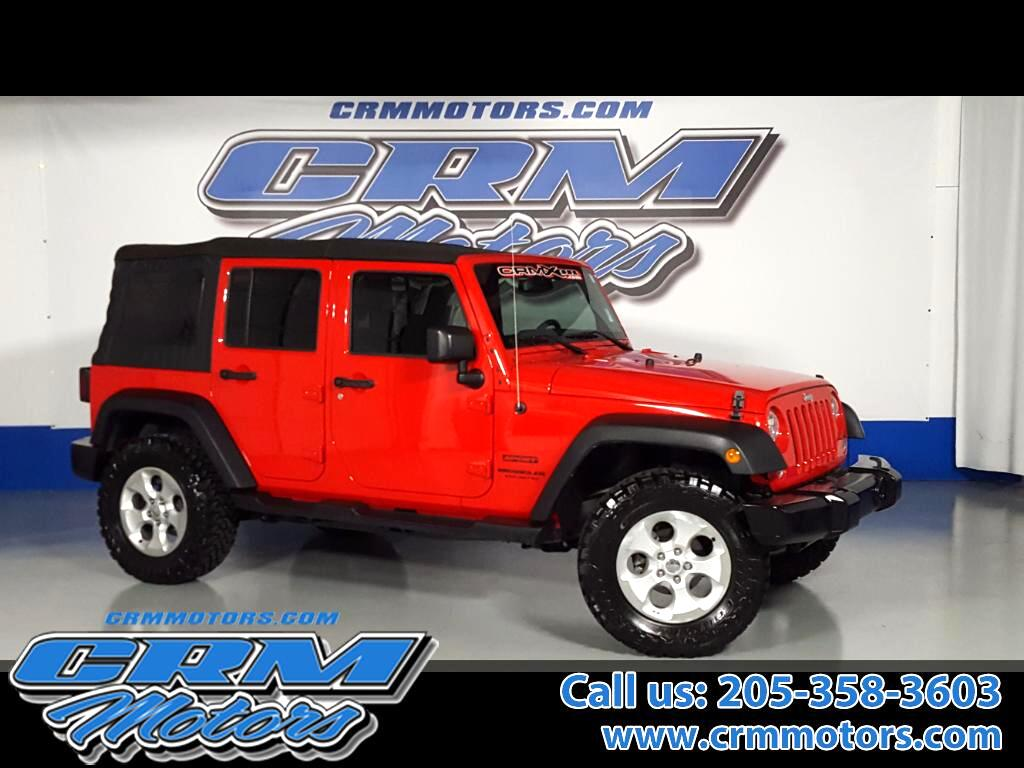 2015 Jeep Wrangler UNLIMITED SPORT 4WD, NO ACCIDENTS!