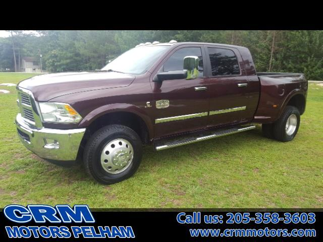 2012 RAM 3500 Laramie Longhorn Edition 4WD Back Up Camera, Heate
