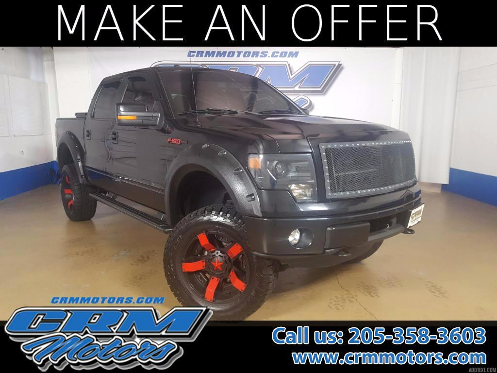 2013 Ford F-150 FX4 4WD Sunroof, Heated and AC Seats, Back Up Came