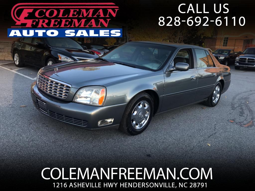 2005 Cadillac DeVille 4dr Sdn
