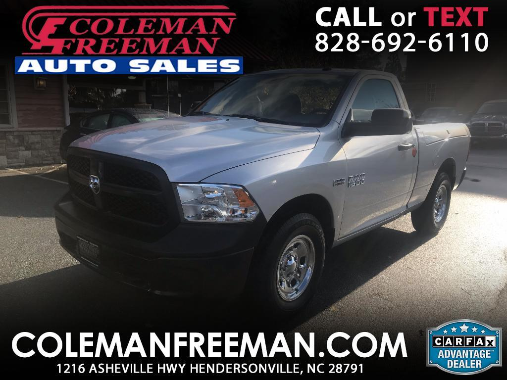 2016 RAM 1500 Tradesman Regular Cab SWB 4WD