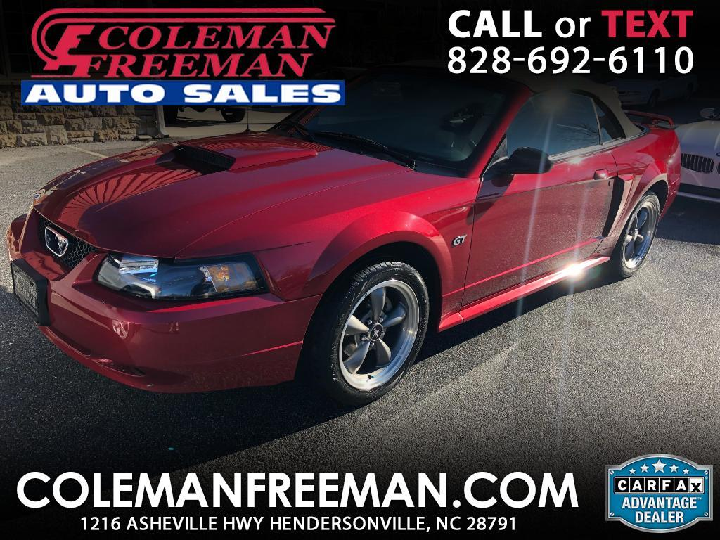 2003 Ford Mustang GT Deluxe Convertible