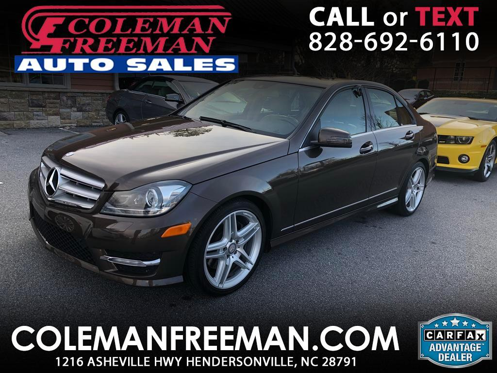 2013 Mercedes-Benz C-Class C300 4MATIC Sport Sedan