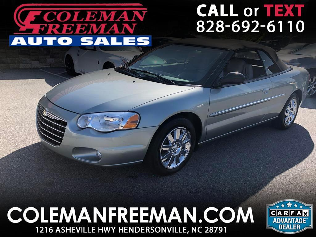 2006 Chrysler Sebring Conv 2dr Limited