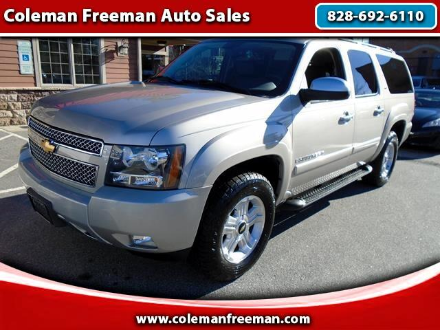 used 2007 chevrolet suburban for sale in hendersonville nc 28791 coleman freeman auto sales. Black Bedroom Furniture Sets. Home Design Ideas