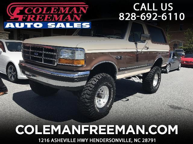 1992 Ford Bronco Custom