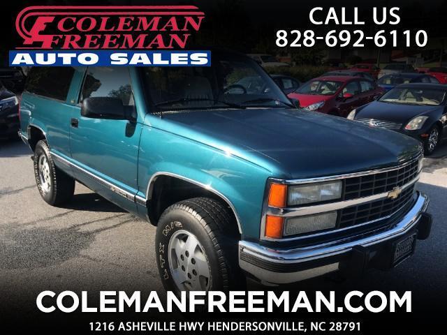 1992 Chevrolet Blazer K1500 4WD