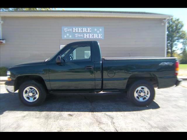 2001 Chevrolet Silverado 1500 Short Bed 4WD