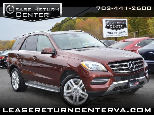 2014 Mercedes-Benz M-Class ML350 4MATIC With Pano Roof and Navigation