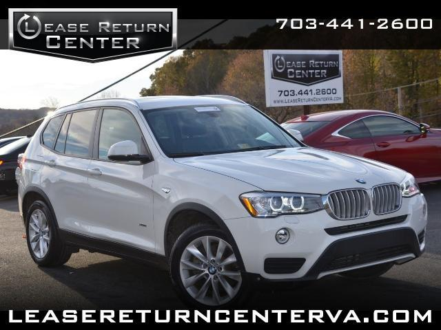 2015 BMW X3 xDrive28i With Navigation
