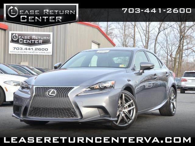 2014 Lexus IS IS 250 F-SPORT WITH NAVIGATION SYSTEM