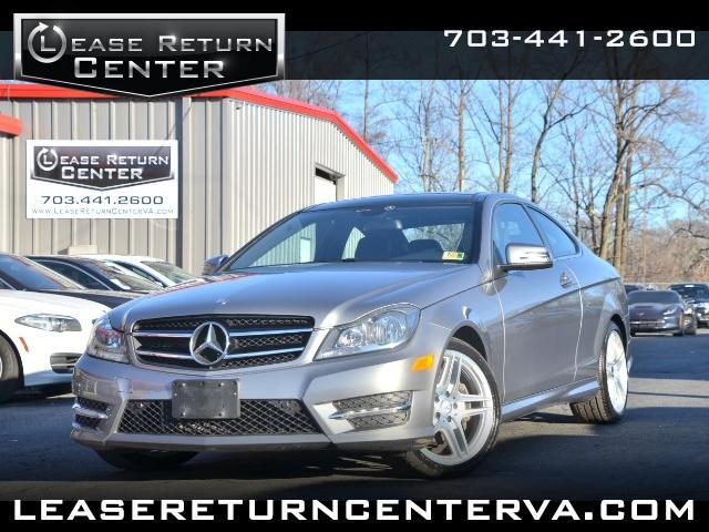 2014 Mercedes-Benz C-Class C350 Coupe 4MATIC With AMG Sports Package