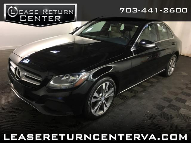 2015 Mercedes-Benz C-Class C300 4MATIC Sedan with Panorama Roof and Navigatio