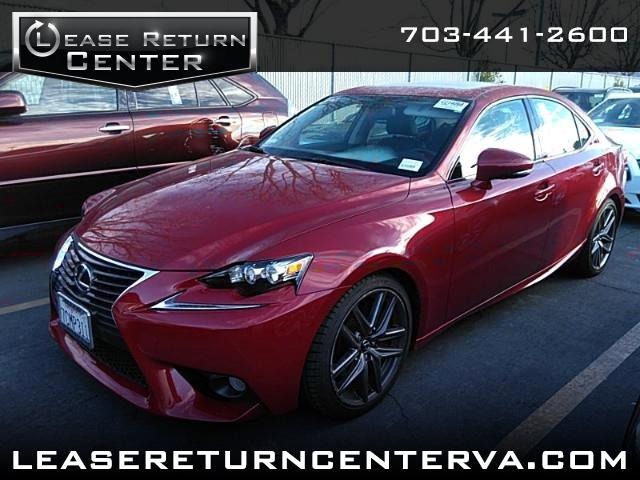 2014 Lexus IS 350 with F Sports Wheels and Navigation