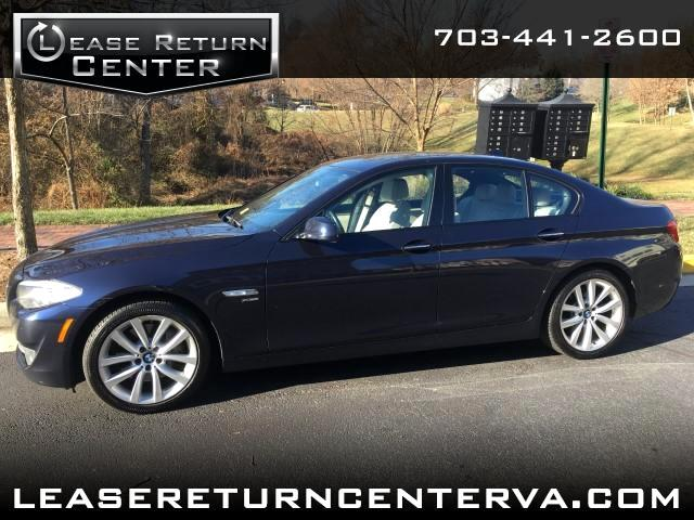 2012 BMW 5-Series 535 xDrive Sports package with Navigation System